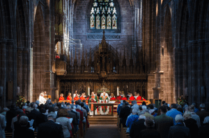 Worship at the Cathedral