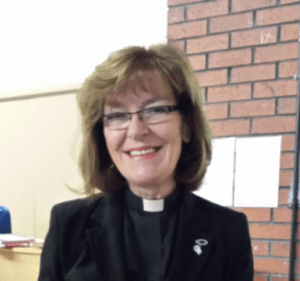Revd Denise Williams, Priest Vicar