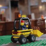 LEGO worker bulldozer