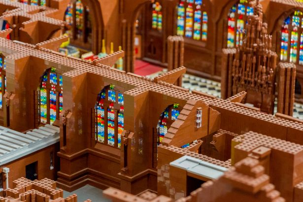Chester Cathedral In Lego Chester Cathedral