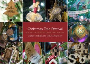 Christmas Tree Festival header