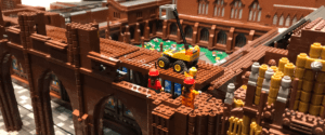 Image of Chester Cathedral in LEGO