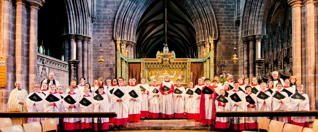 Image - Cathedral Choir and Clergy